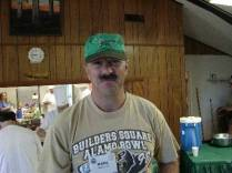 Karl Heller during the Highpointers 2002 Convention at Black Mesa, Oklahoma