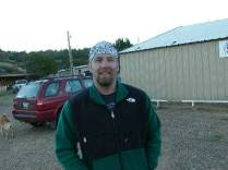 Scott Surgent during the Highpointers 2002 Convention at Black Mesa, Oklahoma