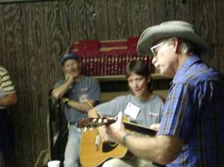Diane Winger and George Vandersluis during the Highpointers 2002 Convention at Black Mesa, Oklahoma