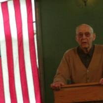 Paul Zumwalt at Jack Longacre Memorial Service