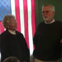 Jan and Ray Nelson at Jack Longacre Memorial