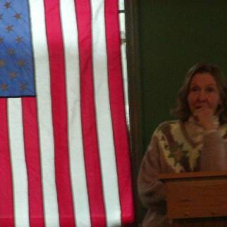 Suzanne Smith [Sierra Club] at Jack Longacre Memorial