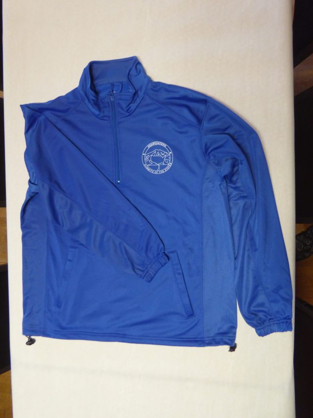 Blue Pull-Over Dri-fit Jacket
