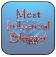 Most influential Blogger award I was nominated for!
