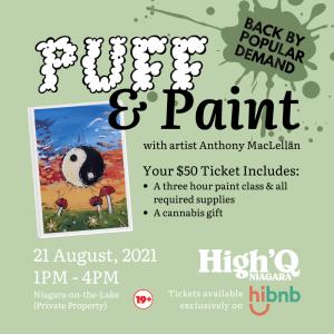Puff & Paint - cannabis friendly event