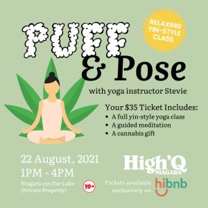Puff & Pose - cannabis friendly event