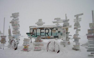 A 21 grados celsius ascienden las temperaturas en el Polo Norte