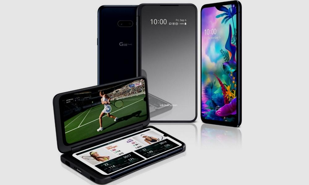 LG presenta en España el G8X ThinQ, un smartphone con doble pantalla muy versátil