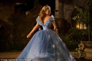 Actress Lily James revealed she was on a partial liquid diet  while filming to fit into Cinderella's tiny corset.