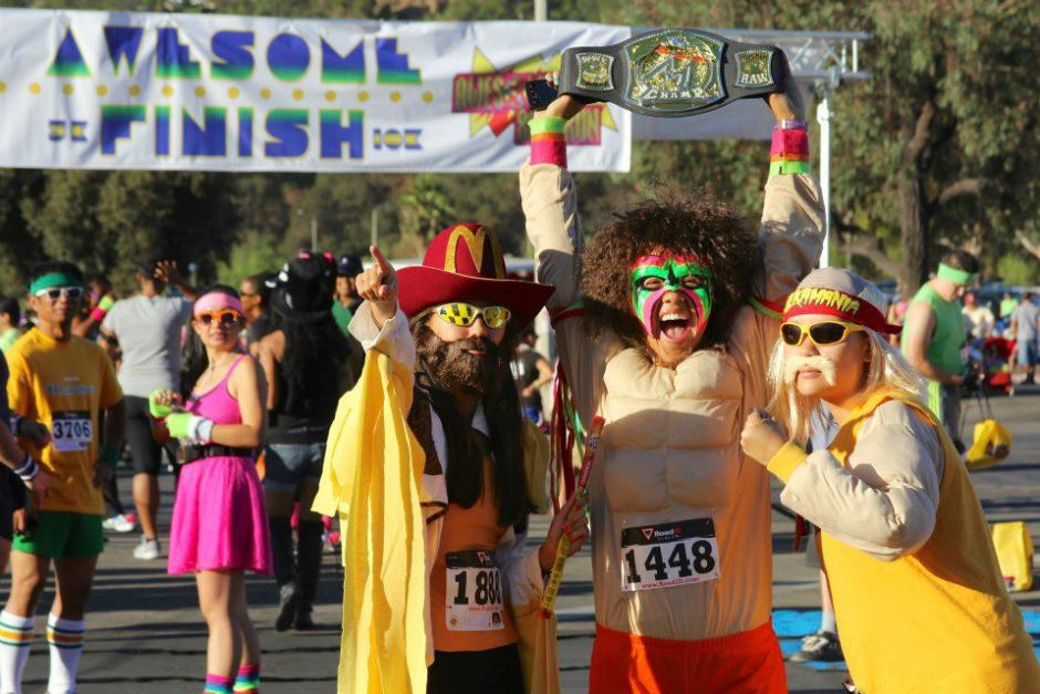 The 2012 Awesome '80s Run in Pasadena. Photo from facebook.com/awesome80srun