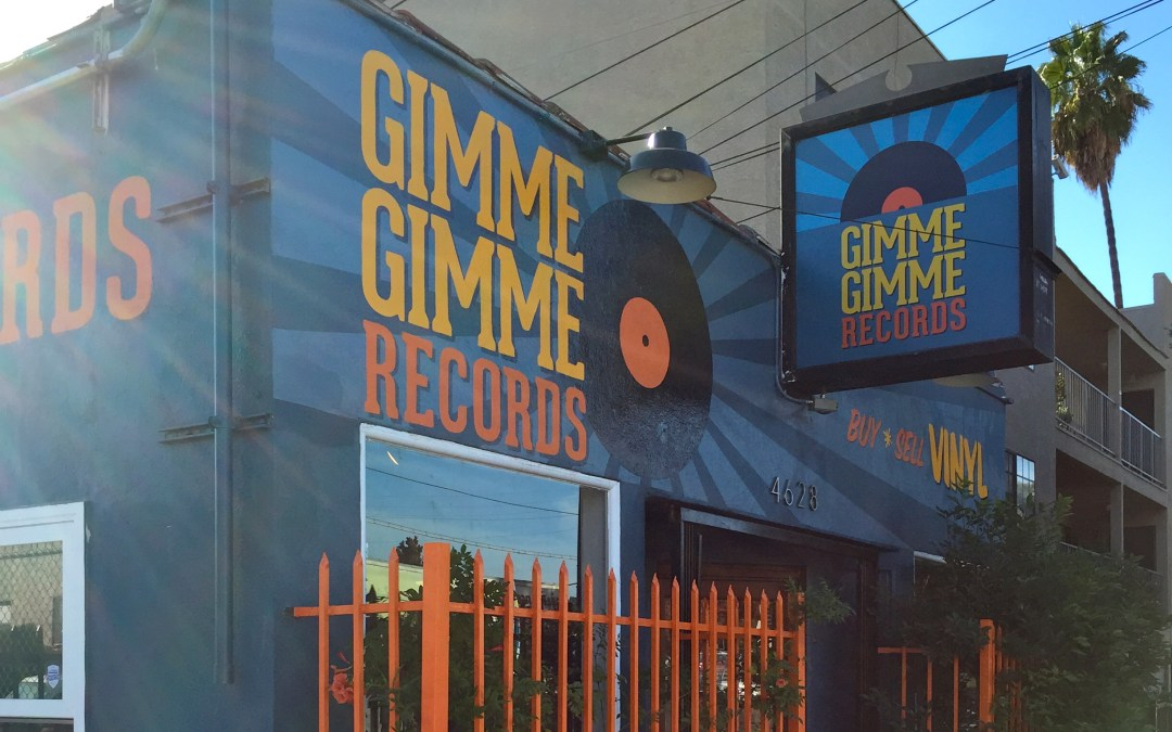 Top five record stores in SoCal