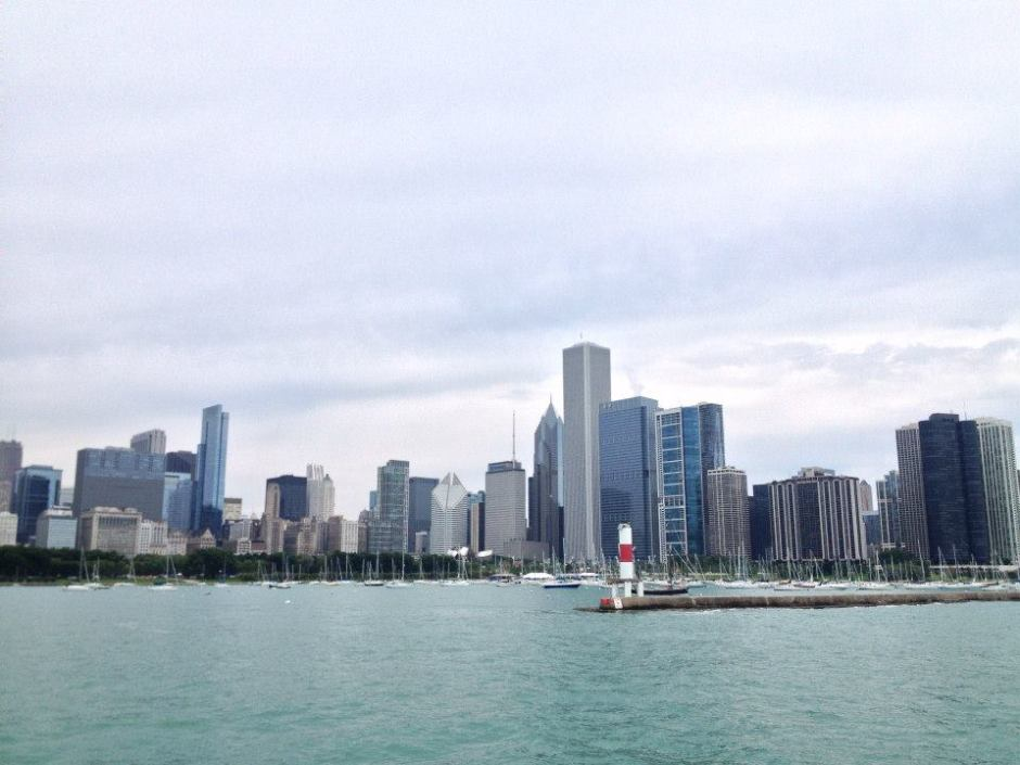 A snapshot of the boat ride. Photo by Abigail Felix.