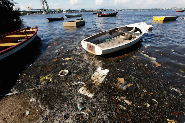 Guanabara Bay is one of the sites for competing in sailing. It has been discovered to contain harmful viruses and bacteria. Photo courtesy of forbes.com