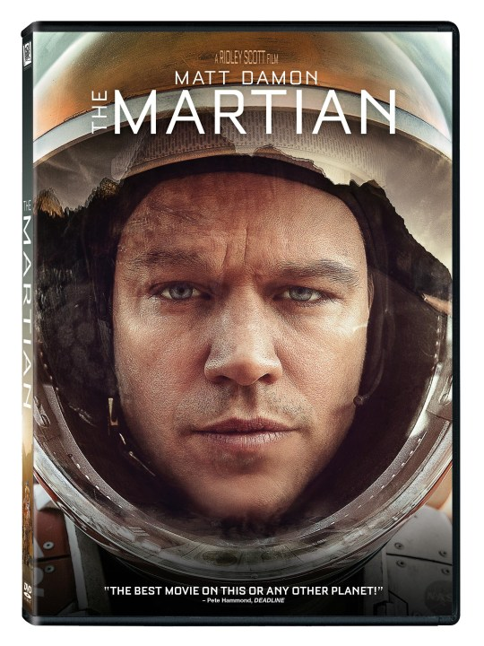 The Martian DVD image