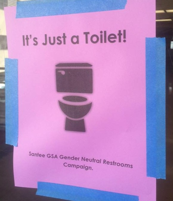 Don't freak out! It's just a toilet