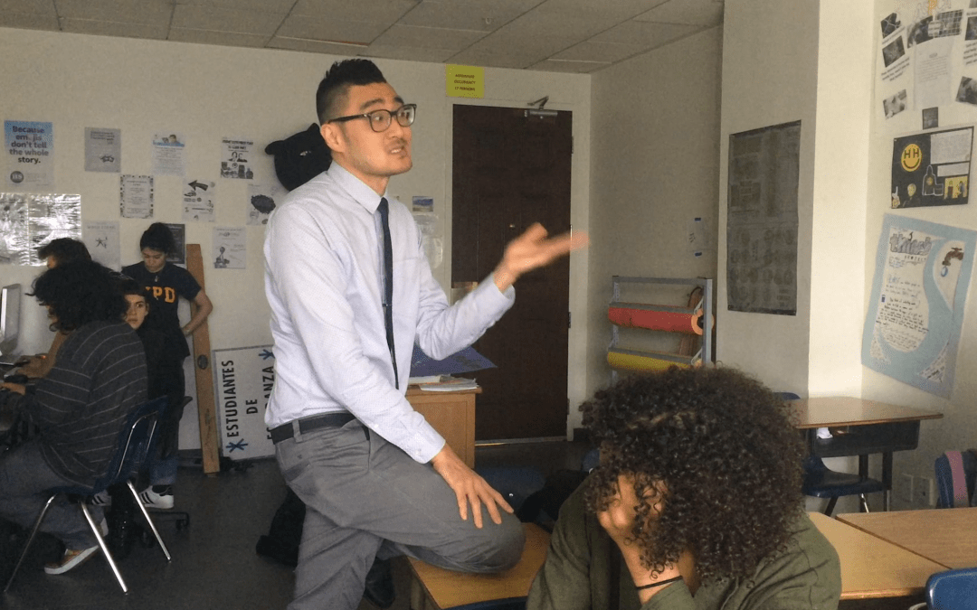 Sang Lee: The 'Champion' of teachers