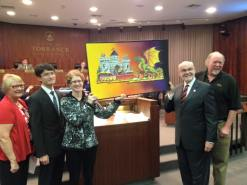 2017 TRFA float rendering at TorrCityCouncil mtg