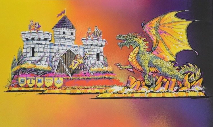 Beckmeyer to fight dragon at 128th Rose Parade