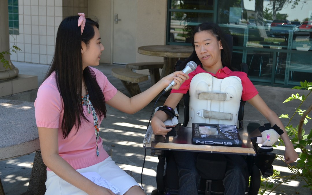 Angela Oyama: Conquering high school with cerebral palsy
