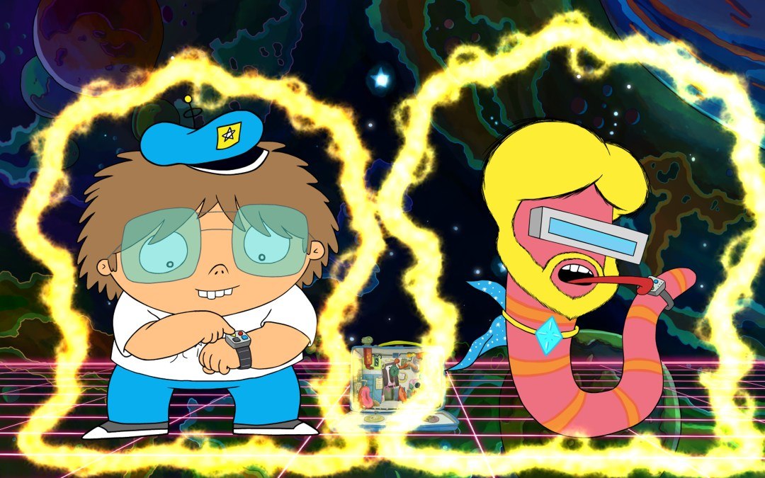 Behind-the-scenes at Disney XD's 'Future-Worm!'