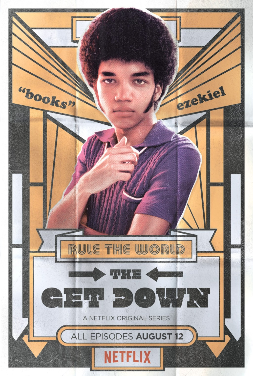 Justice Smith as Ezekiel in The Get Down. Netflix