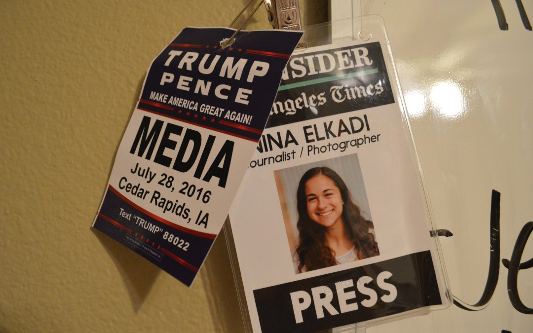 Covering Trump—as a 16-year-old mixed-race girl