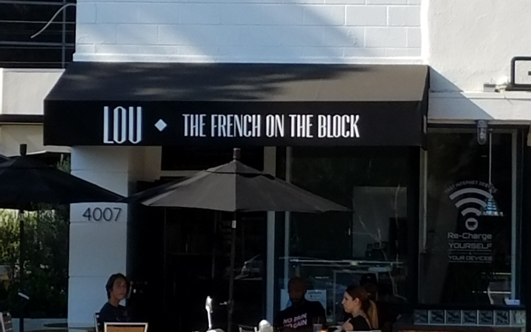 Feel like you're in Paris at Lou: The French on the Block