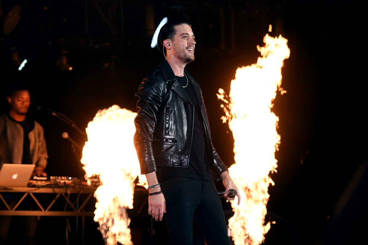 HOLLYWOOD, CA - OCTOBER 22: Recording artist G-Eazy performs onstage during CBS RADIO's fourth annual We Can Survive concert at the Hollywood Bowl on October 22, 2016 in Hollywood, California. (Photo by Kevin Winter/Getty Images for CBS Radio, Inc.)