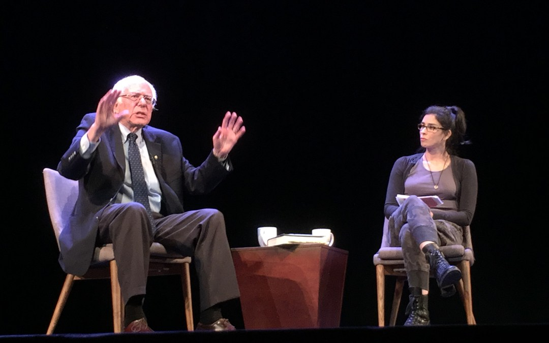 Glendale 'Feels the Bern' at The Alex Theatre