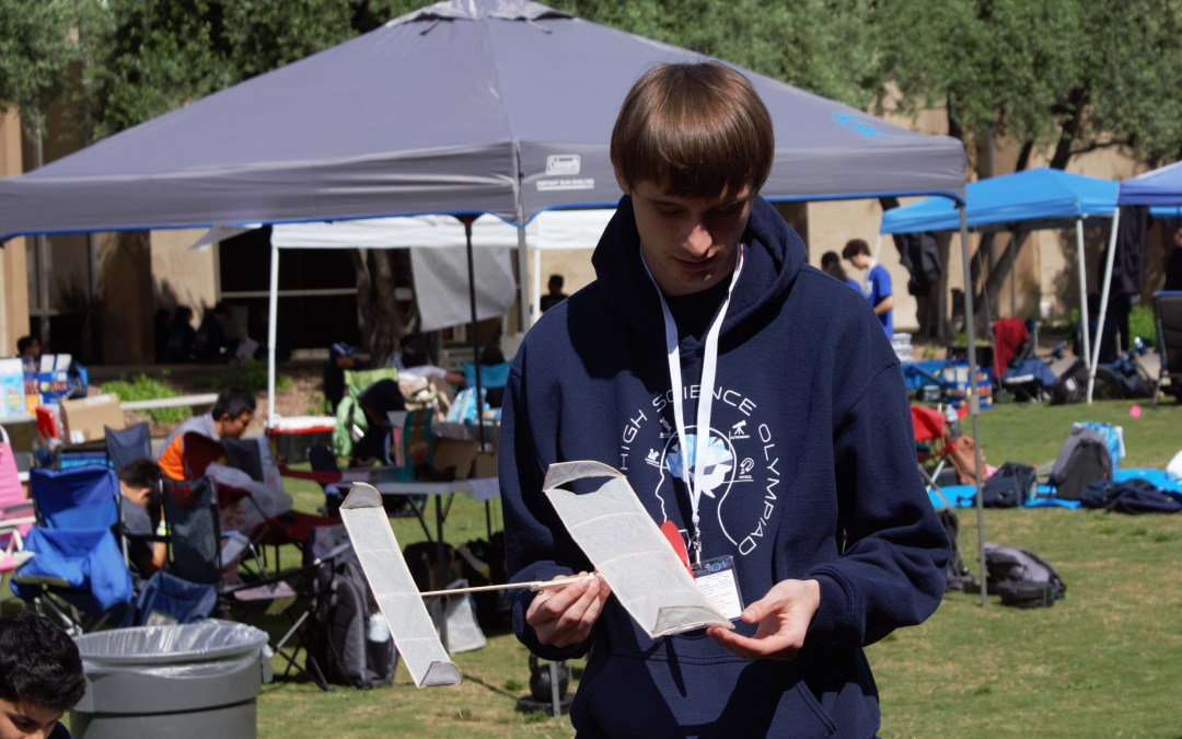West Torrance Science Olympiad builds away at Caltech