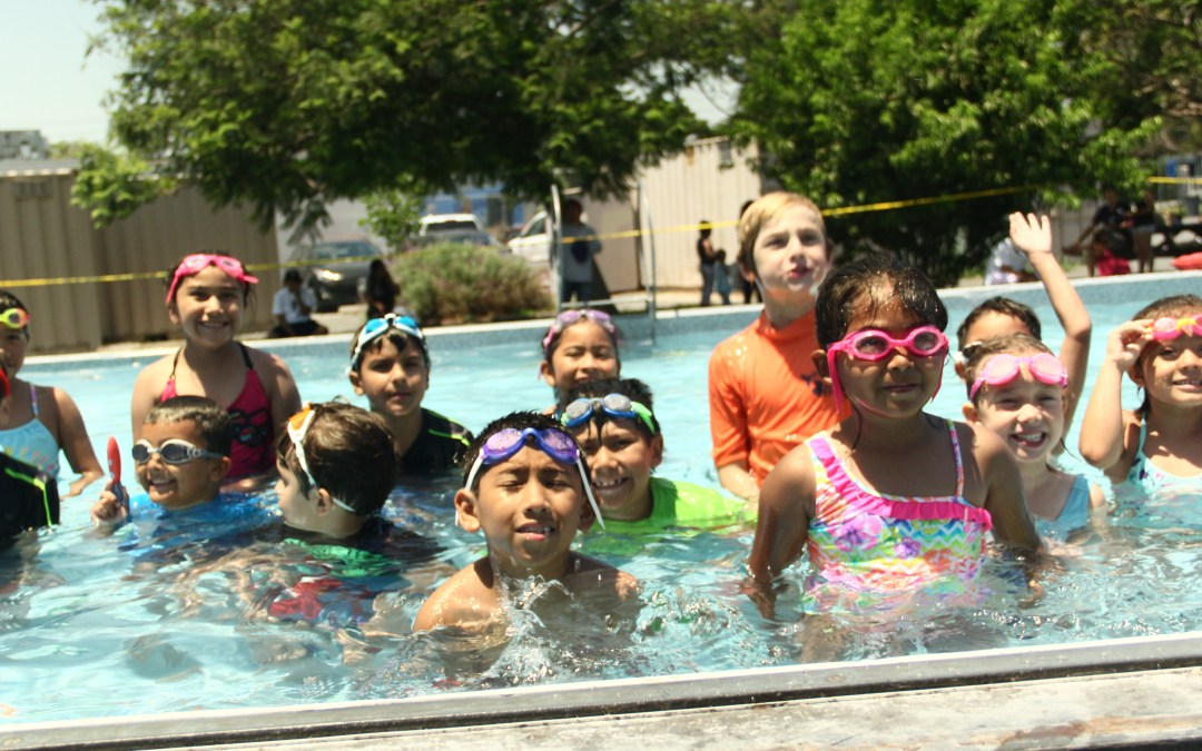 Beyond the Bell offers kids free summer swimming lessons