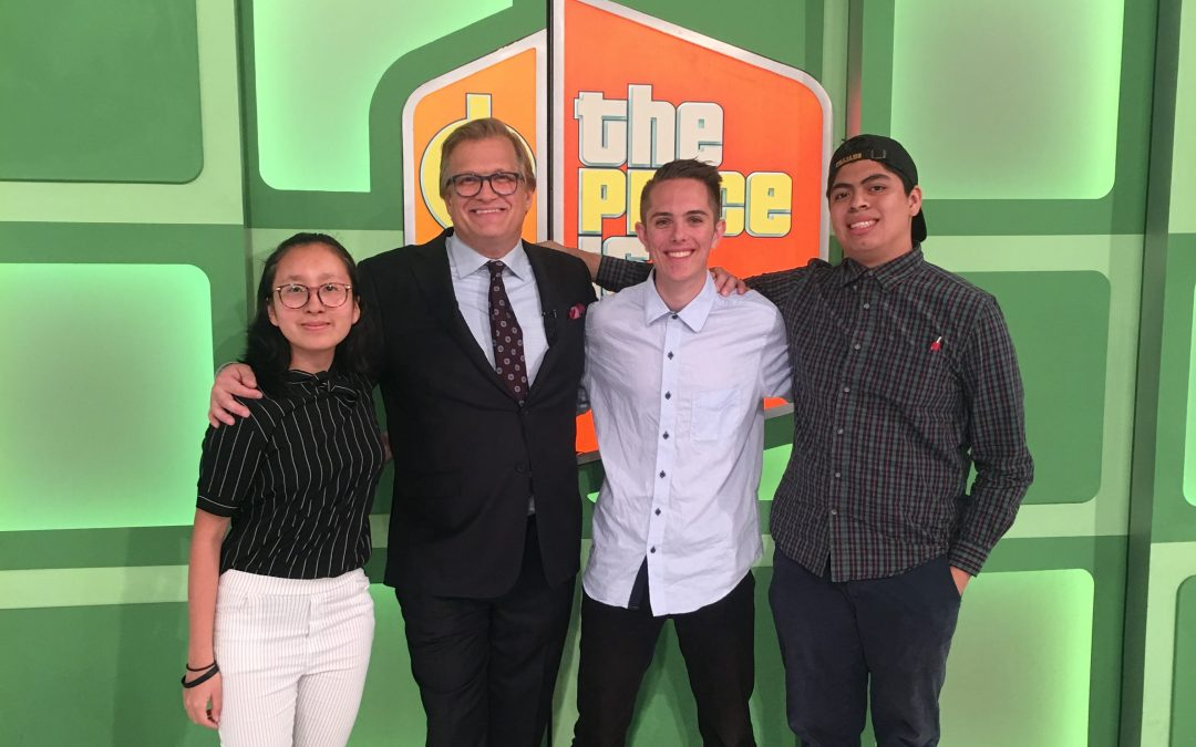 Stars of 'The Price is Right' give advice to young journalists