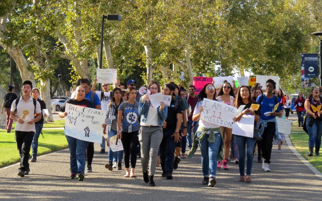 CSUSB rallies in support for undocumented students