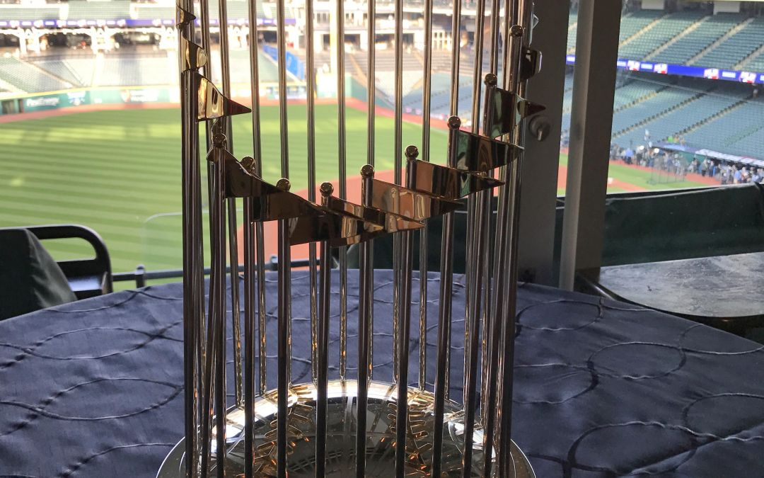 Commentary: A match made in baseball