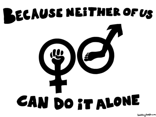 I am proud to be a Feminist, aren't you?