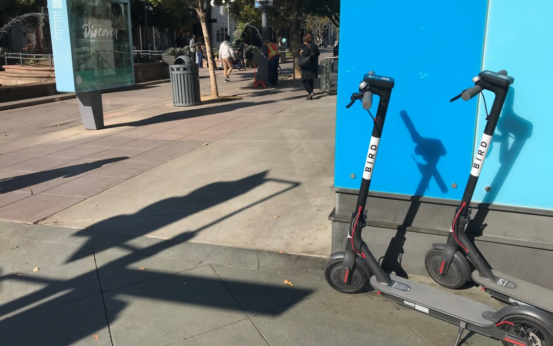 Update: Electric scooters: Part of the transportation solution or public nuisance? Partly Both