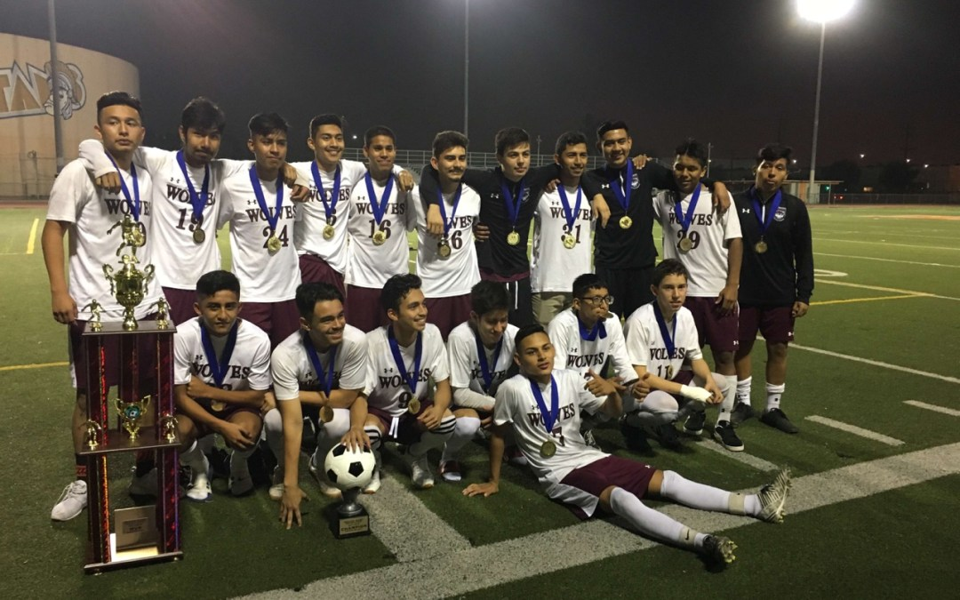 Sotomayor Wolves Soccer Team Win Semi Finals and Advance to the CIF Championship