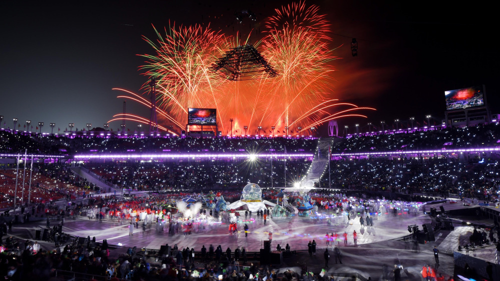 The memorable closing ceremony