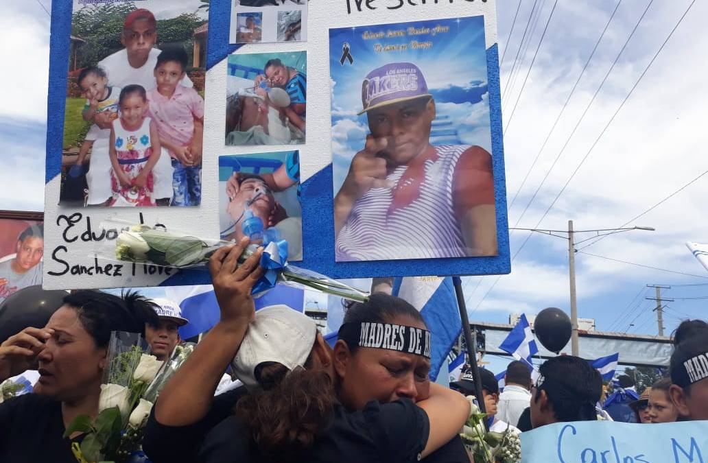 How Mother's Day in Nicaragua went from a Peaceful Demonstration to an Angry Bloodbath