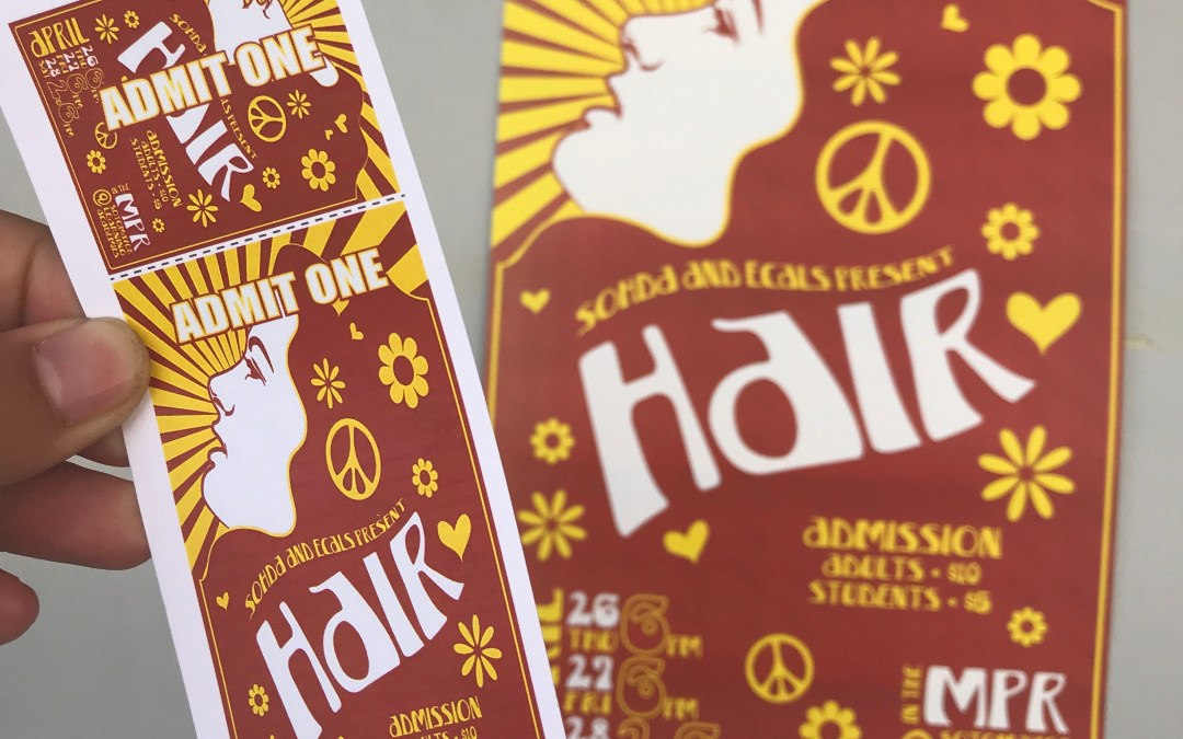 'Hair' — An Ecals and SoHDA Production