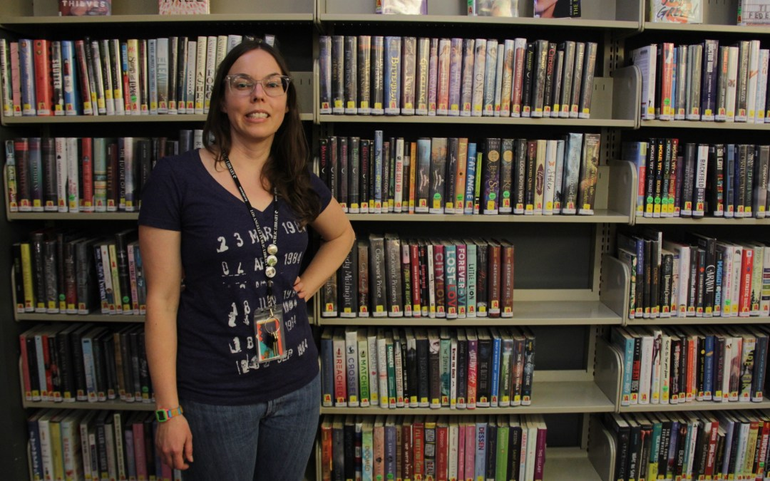 Edendale Library's teen librarian hosts programs that inspire