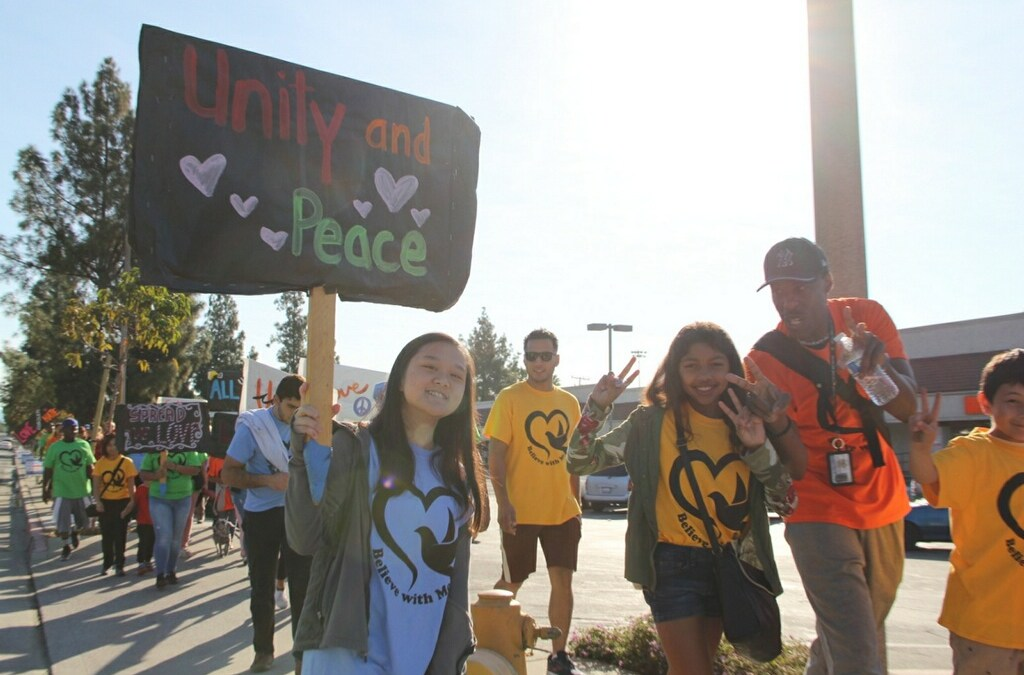 Duarte Unity March: Putting the 'Unity' in 'Community'