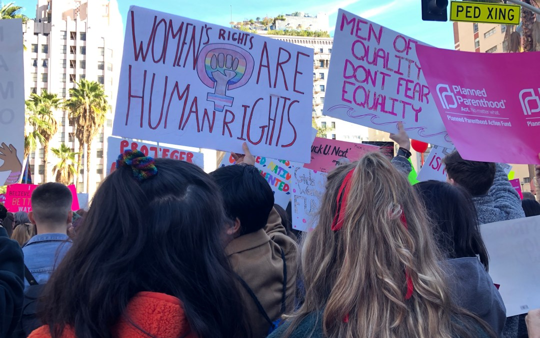 Los Angeles Women's March: 'Truth to Power'
