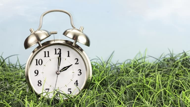 Spring forward for daylight saving time on March 10
