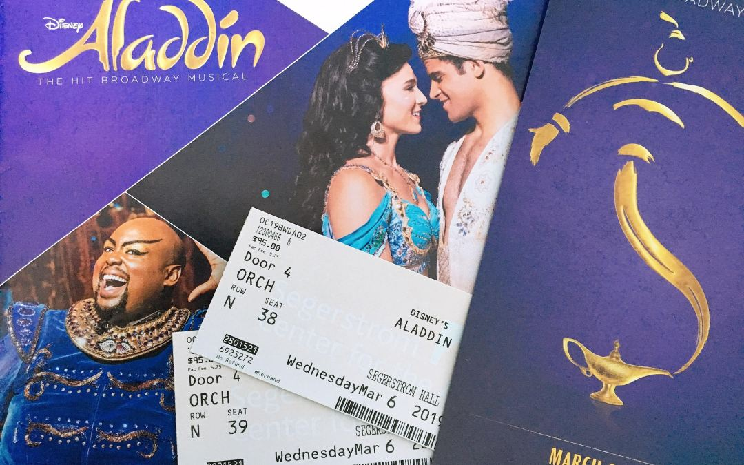 Review: Broadway's Aladdin truly calls for high adventure