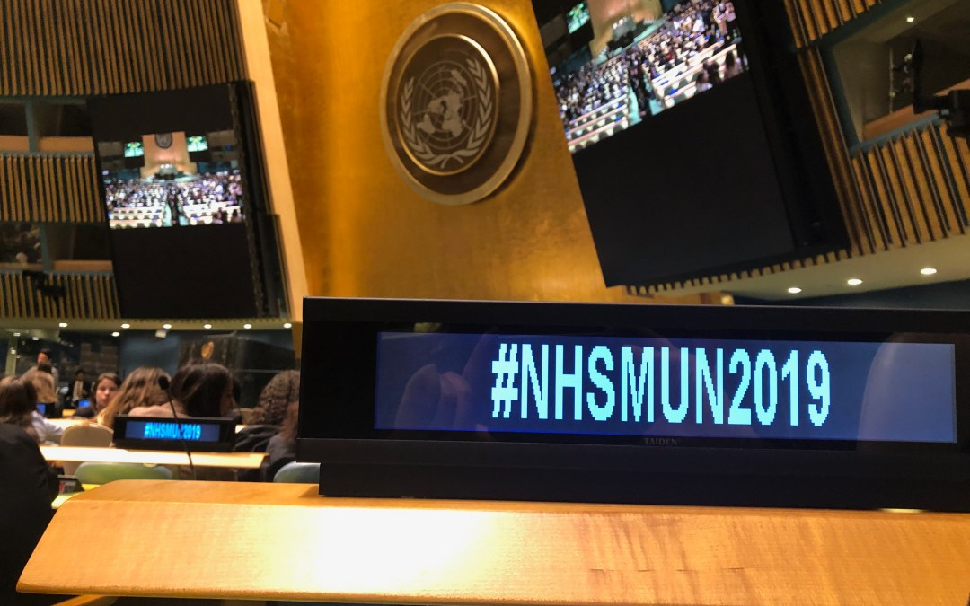45th National High School Model United Nations Conference — An unforgettable experience