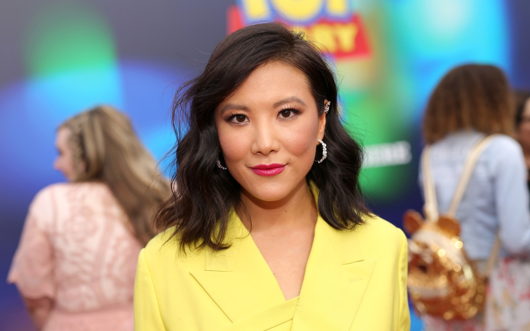 Ally Maki as Giggle McDimples in the long-awaited film 'Toy Story 4'