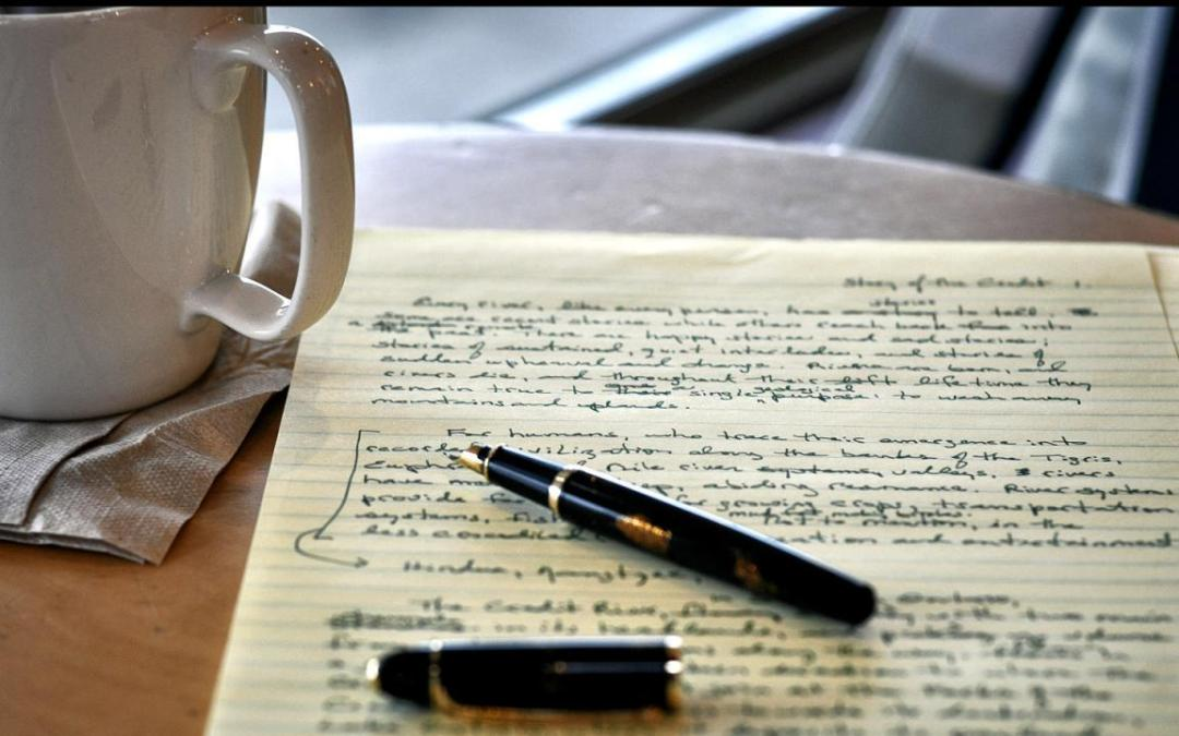 Opinion: Writing is therapeutic