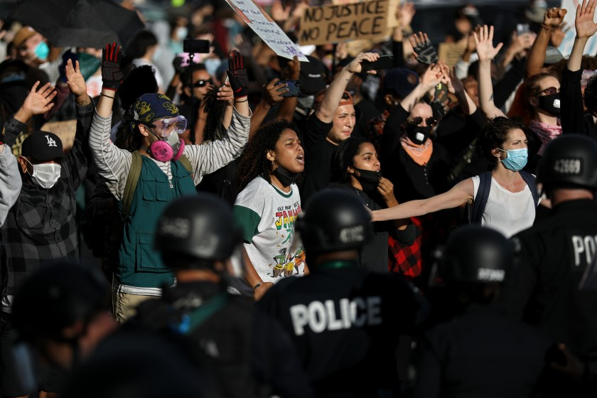 Opinion: The danger of 'All Lives and Blue Lives Matter'