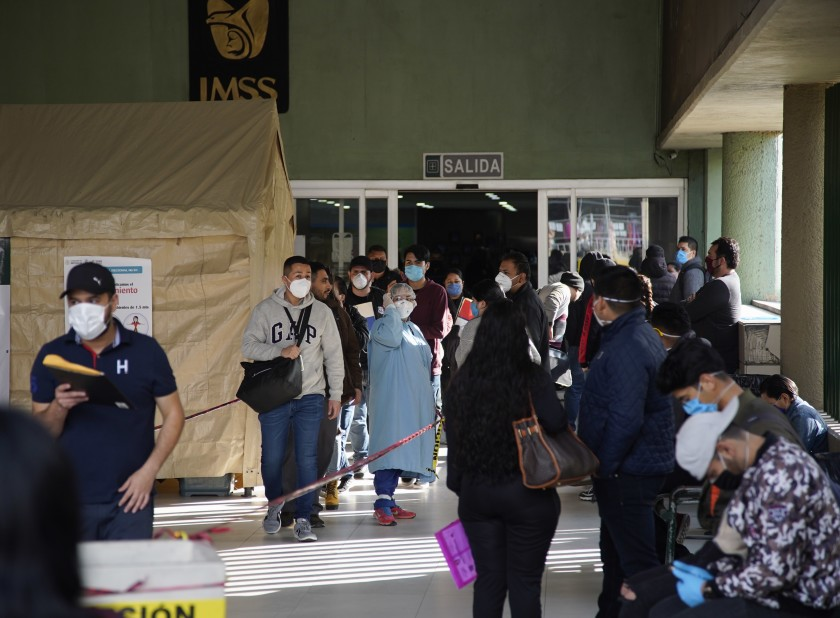 Column: Amid pandemic, efforts are from the Mexican people and not from the government
